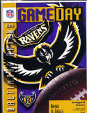 Baltimore Ravens vs Eagle 8/3 1996 Inaugral Game Season nm football program!
