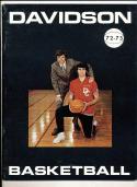 1972 - 1973 Davidson University  Basketball press Media guide