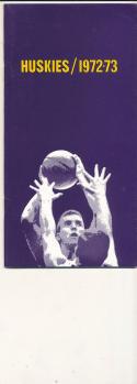 1972 - 1973 Washington University Basketball press Media guide