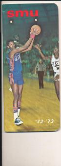 1972 - 1973 SMU University Basketball press Media guide