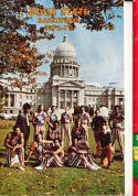 1972 - 1973 Boise State University Basketball press Media guide