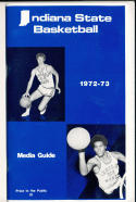 1972 - 1973 Indiana State  Basketball press Media guide