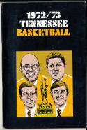 1972 - 1973 Tennessee Basketball press Media guide