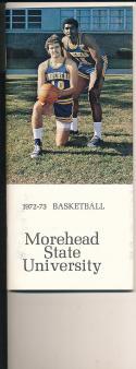 1972 - 1973 Morehead state Basketball press Media guide