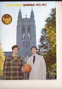 1972 - 1973 Boston College  University Basketball press Media guide