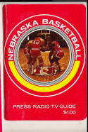 1972 - 1973 Nebraska University  Basketball press Media guide