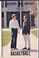 1972 - 1973 Mississippi State Basketball press Media guide bkbx8