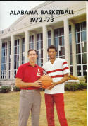 1972 - 1973 Alabama University Basketball press Media guide