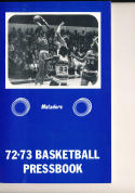 1972 - 1973 CSUN Northridge University  Basketball press Media guide