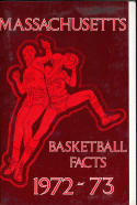 1972 - 1973 Massachusetts University  Basketball press Media guide