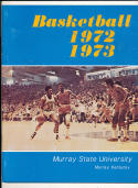 1972 - 1973 Murray State University  Basketball press Media guide