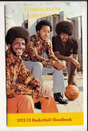 1972 - 1973 Florida State University Basketball press Media guide