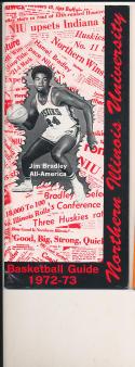 1972 - 1973 Northern Illinois University Basketball press Media guide