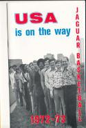 1972 - 1973 University of South Alabama Basketball press Media guide