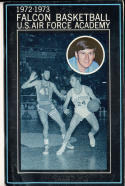1972 - 1973 Air Force Academy University Basketball press Media guide
