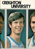 1972 - 1973 Creighton University  Basketball press Media guide