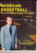1972 - 1973 Missouri University  Basketball press Media guide