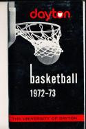 1972 - 1973 Dayton University Basketball press Media guide