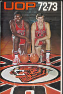 1972 - 1973 Pacific University  Basketball press Media guide