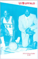 1973 University of Buffalo Media Guide bkbx6.1443