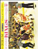 11/6 1968  Los Angeles Kings vs New York Rangers Hockey Program