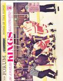 4/5 1969  Los Angeles Kings vs Oakland Seals  Playoff  Hockey Program & ticket