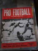 1945 Pro football Illustrated fall ex-em