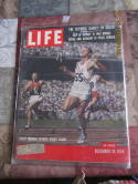Bobby Morrow LIfe  SIGNED  12/10 1956 Magazine