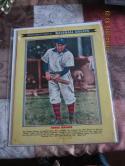 Police Gazette Honus Wagner Pirates photo album  July 1959