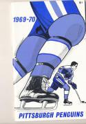 1969 - 1970 Pittsburgh Penguins  press Media guide nm