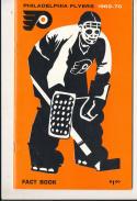 1969 - 1970 Philadelphia Flyers press Media guide nm