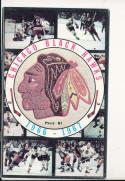 1966 Chicago Black Hawks NHL Media press Guide