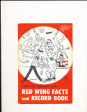 1960 Detroit Red Wings NHL Hockey Media Press Guide nm