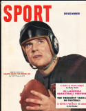 1951 December Sport Magazine Johnny Lujack Chicago Bears nm