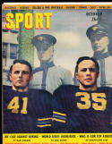 1946 October Sport Magazine Glenn Davis Doc Blanchard army nm