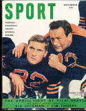 1949 December Sport Magazine Johny Lujack chicago Bears