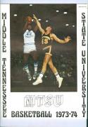 1973 Middle Tennessee Basketball Media Guide bkbx6.1625