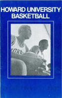 1973 Howard Basketball Media Guide bkbx6.1486
