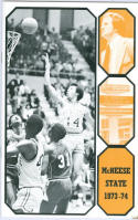 1973 McNeese State Basketball Media Guide bkbx6.1510