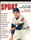 1959 april Sport Magazine Rocky Colavito Cleveland Indians NM