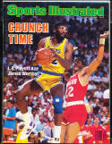 1986 May/19 Sports Illustrated No Label newsstand James Worthy Lakers