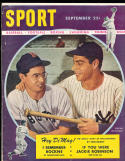 1947 September Sport Magazine Joe & dom dimaggio