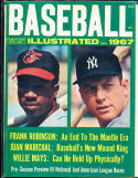 1967 Baseball Illustrated Mickey Mantle Frank Robinson