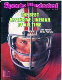 1981 8/3  Sports Illustrated No Label newsstand John Hannah Patriots