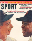 1964 August Sport Magazine JOe Dimaggio Willie Mays