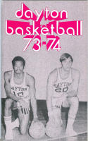 1973 Dayton Basketball Media Guide bkbx6.1463