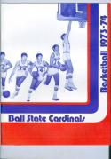 1973 Ball State Basketball Media Guide bkbx6.1595
