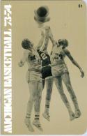 1973 Michigan University Basketball Media Guide bkbx9