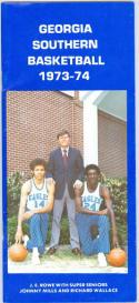 1973 Georgia Southern Basketball Media Guide bkbx6.1477
