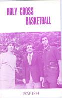 1973 Holy Cross Basketball Media Guide bkbx6.1483